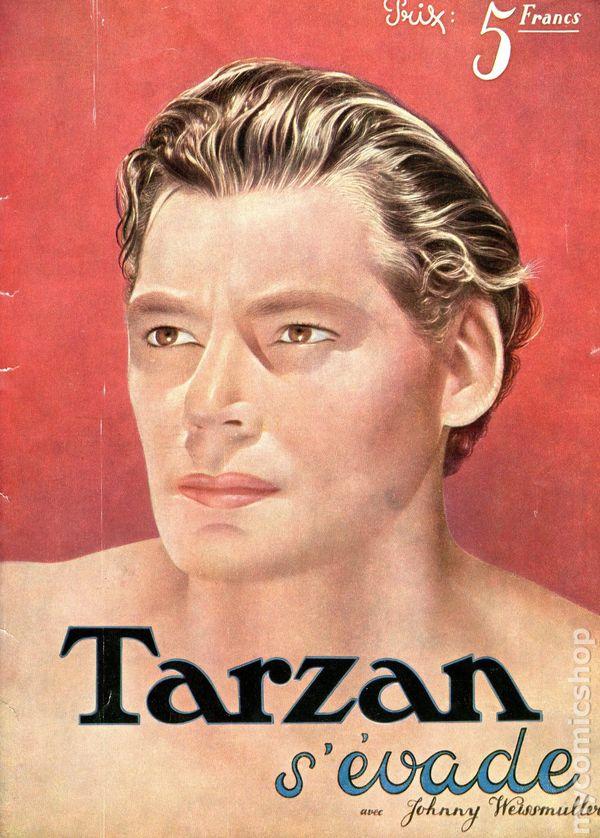 Tarzan Escapes (French Edition 1936) comic books
