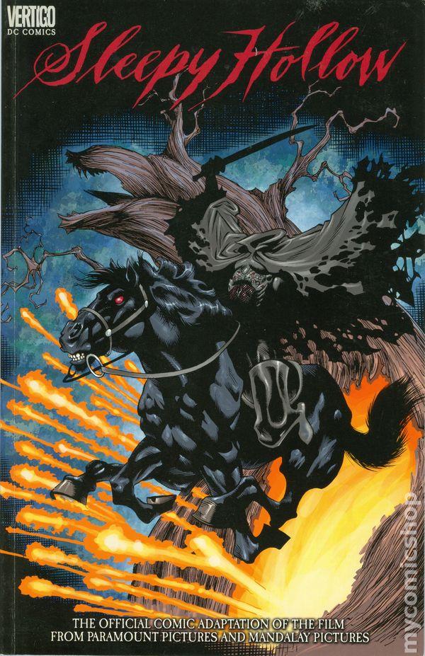 Sleepy Hollow Movie Adaptation 2000 Comic Books