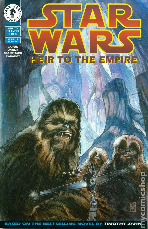 star wars heir to the empire 1995 comic books