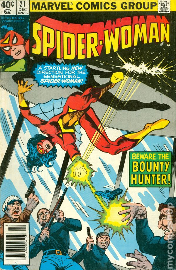 #10 1979 VF 8.0 Stock Image 1st Series Spider-Woman