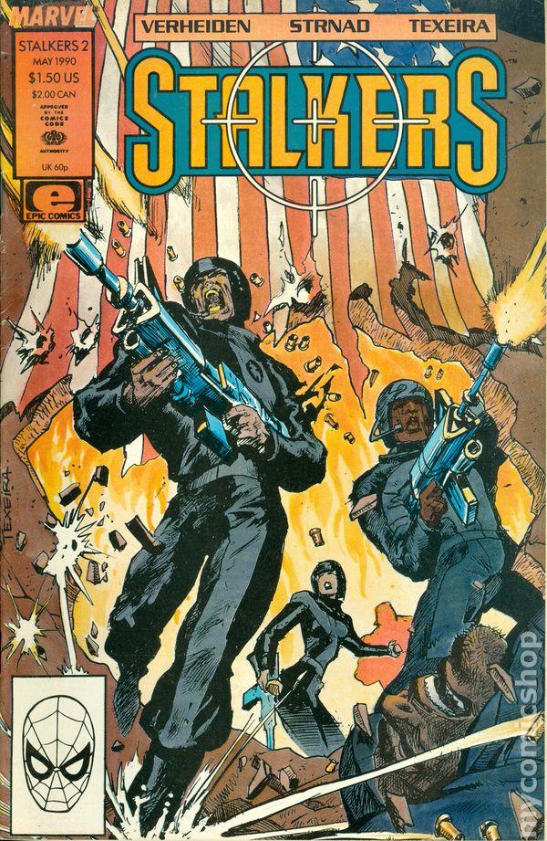 Stalkers 1990 Marvel 2