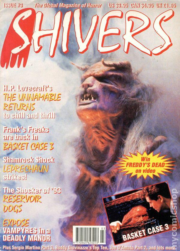 Shivers 1992 3 Comic books in u0027Demonu0027