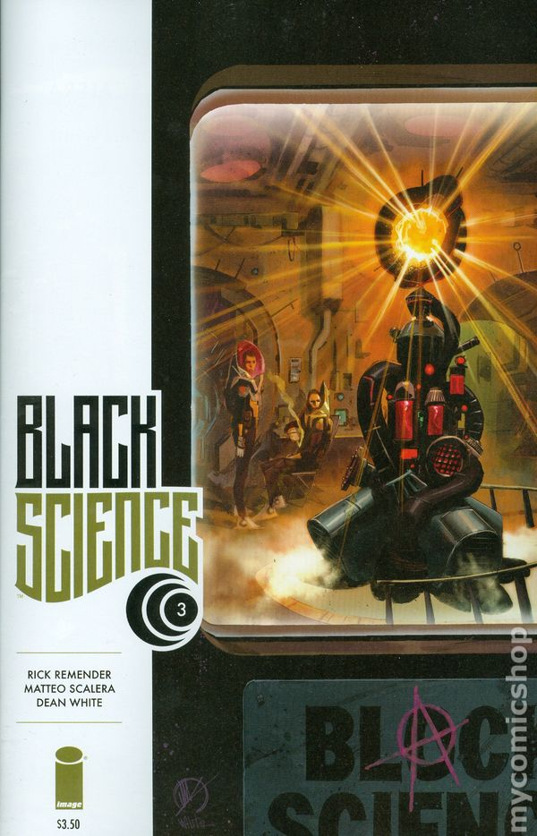 Black Science #43A NM Stock Image