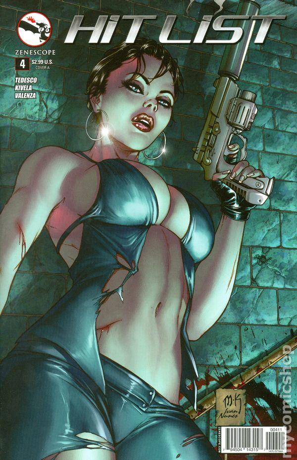 Hit List (2013 Zenescope) comic books 2014