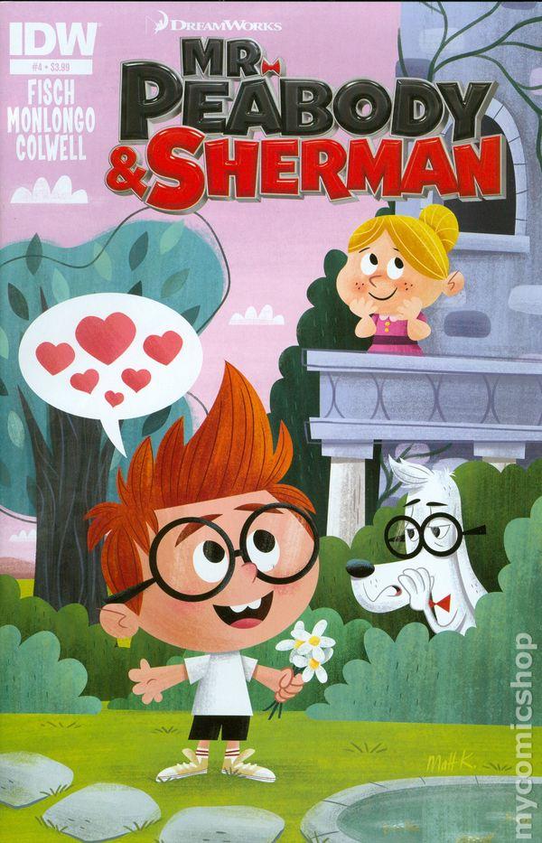 Mr Peabody And Sherman 2013 Idw Comic Books