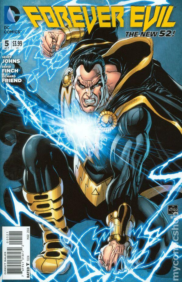 forever evil  2013 dc  comic books