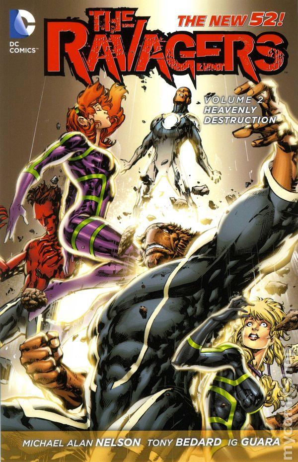 Ravagers TPB 2013 2014 DC Comics The New 52 2 1ST