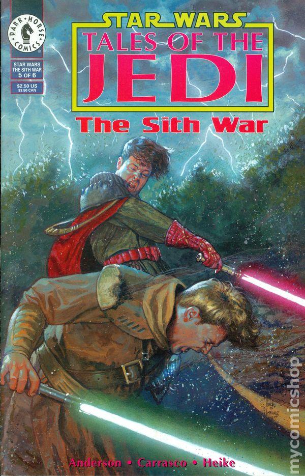 star wars tales of the jedi the sith war  1995  comic books