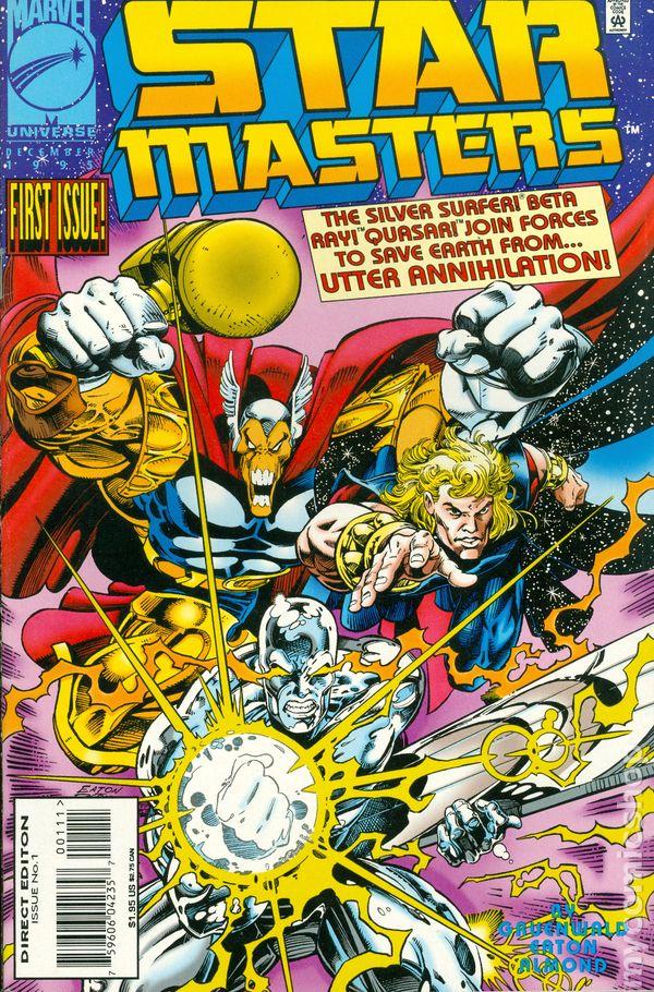 starmasters  1995 marvel  comic books