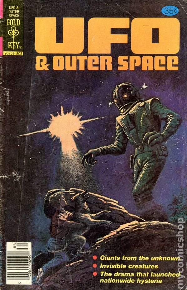 Ufo And Outer Space 1978 Gold Key Comic Books