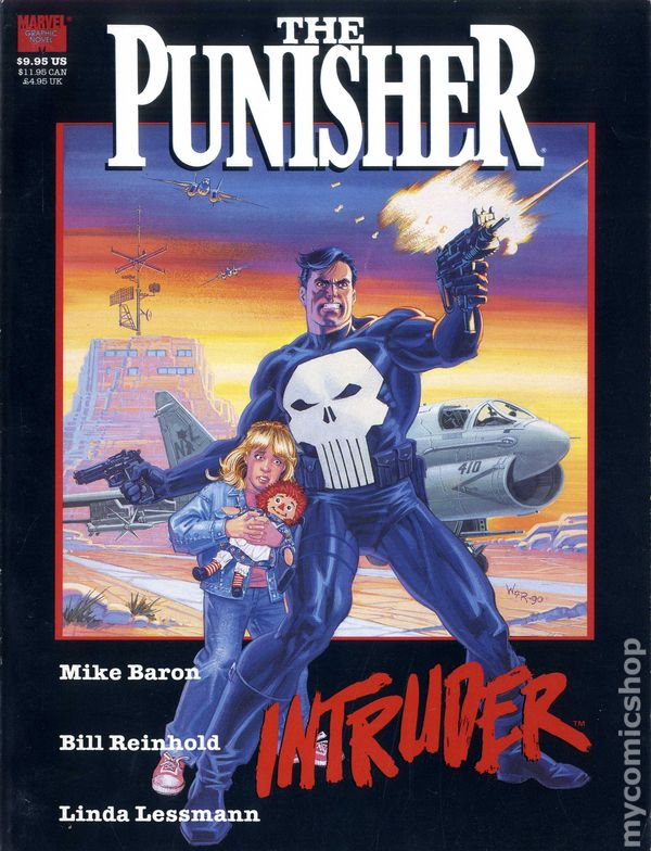 Punisher Intruder Gn 1989 Marvel Comic Books