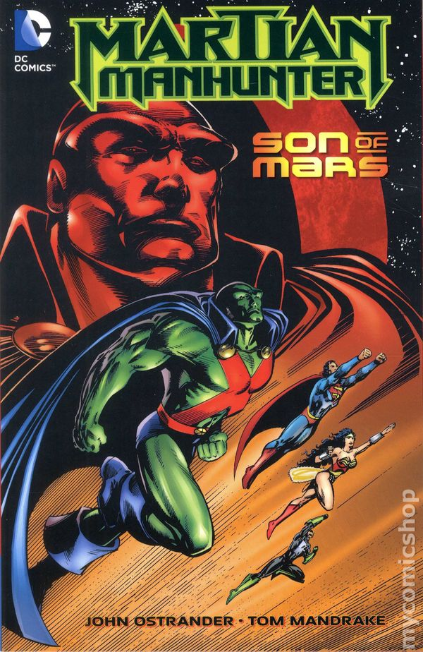 Superman 1950 Comic Martian Manhunter Son ...