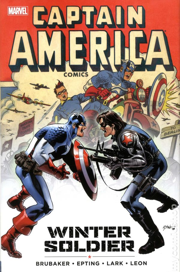 Winter Soldier Comic Book