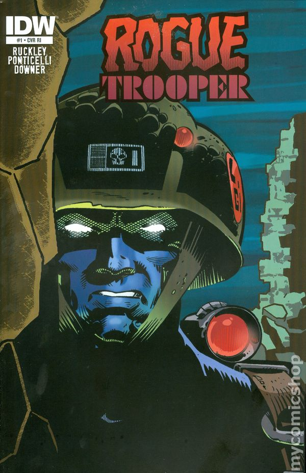 Preview–IDW spins new Rogue Trooper series from the pages of 2000 ... | 928x600