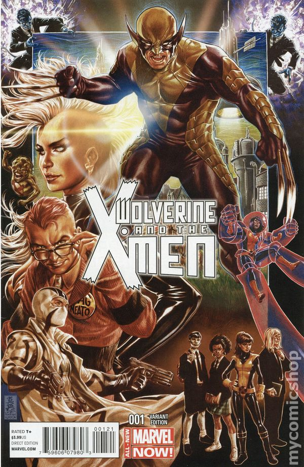 Wolverine and the X-Men #9 2014 VF Stock Image