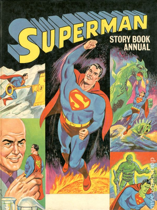 Superman Story Book Annual HC (1968-1970) UK comic books