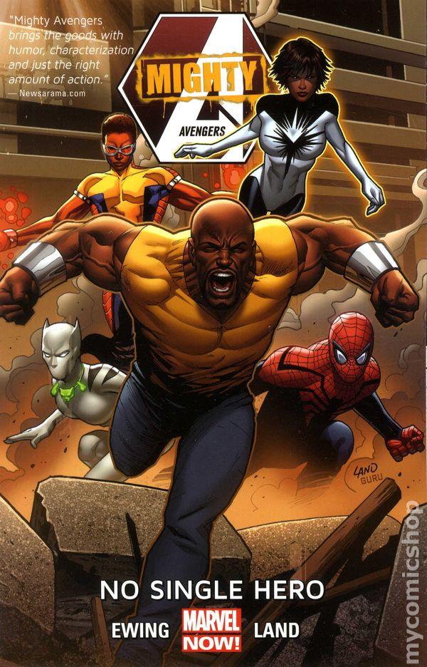 Grade 9.2 Mighty Avengers: No Single Hero 2014 Vol 1 TPB -