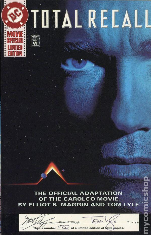 Total Recall 1990 Comic Books