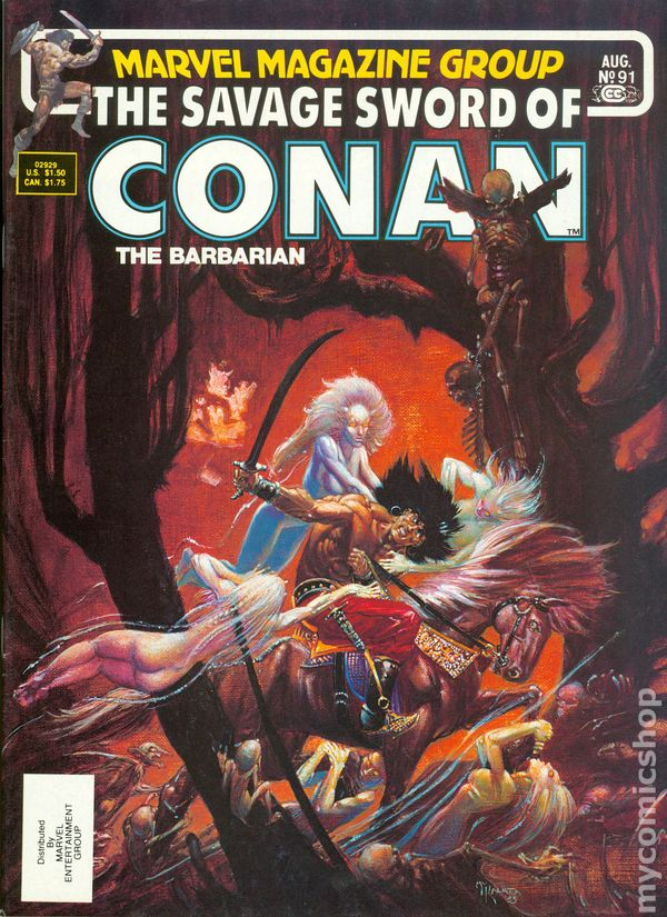 Savage Sword Of Conan 1974 Magazine Comic Books
