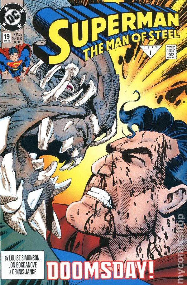 Superman the Man of Steel 1991 series # 47 near mint comic book