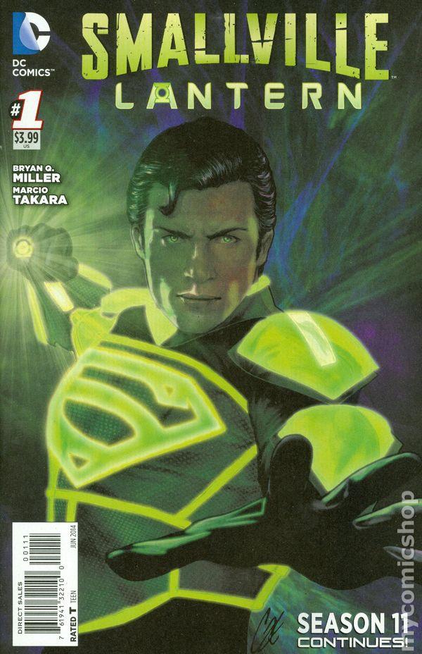 Green Lantern Ring Smallville Season 11 L...