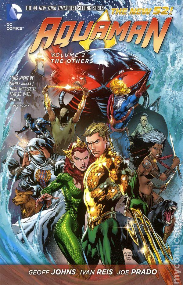 Aquaman tpb (2013-2017 dc comics the new 52) comic books.