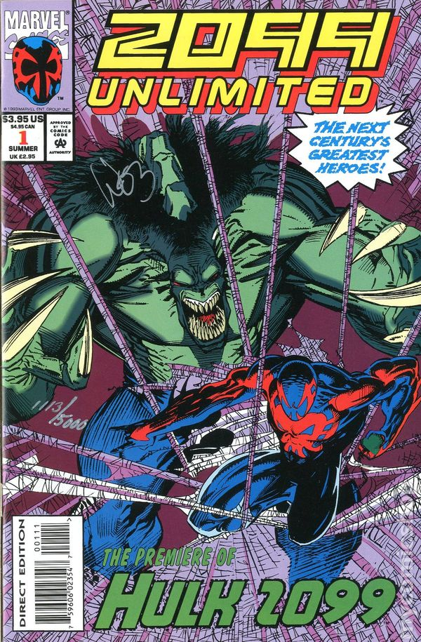 2099 Unlimited 1993 Comic Books
