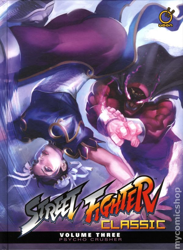 SUPER STREET FIGHTER  VOL 1 HC HARD COVER UDON GAMES NEW