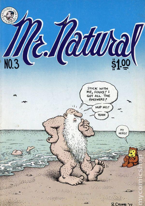 Mr Natural 1970 Comic Books
