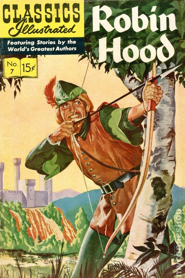 an introduction and a portrayal of the robin hood character in literature