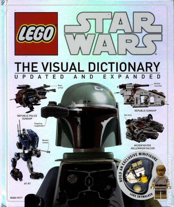 LEGO Star Wars The Visual Dictionary HC (2014 DK) Updated Expanded ...