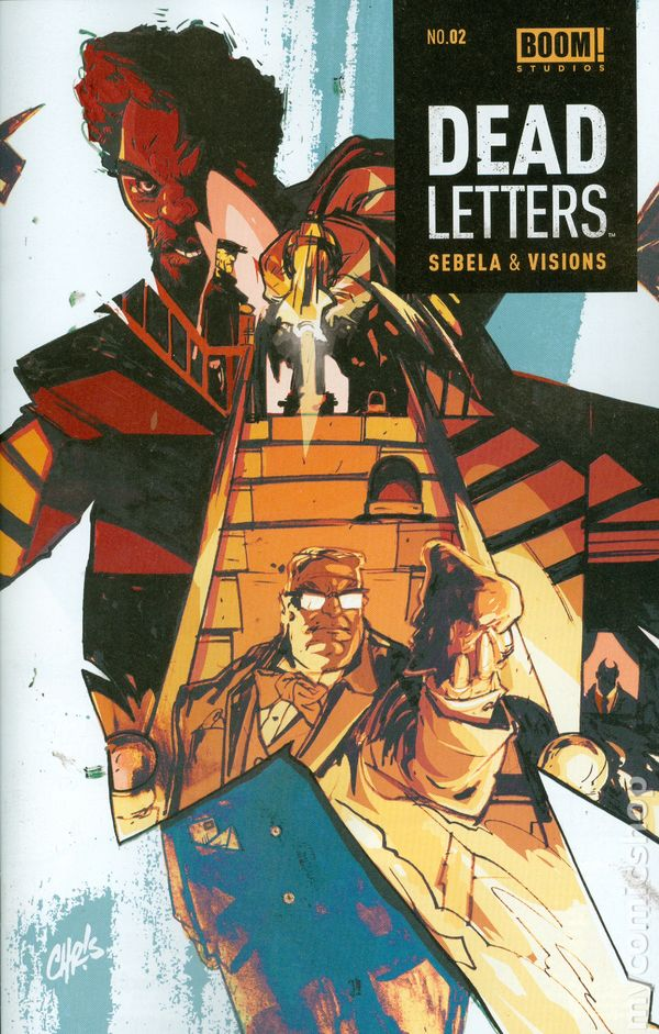 Dead Letters 2014 2 Comic books May