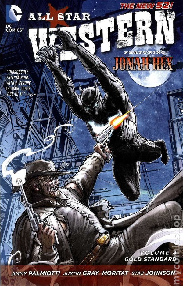 f318655e6d42 All Star Western TPB (2012-2015 DC Comics The New 52) comic books