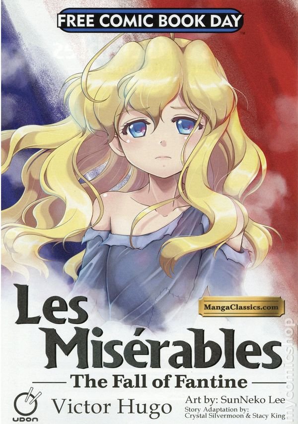 Les Miserables The Fall Of Fantine 2014 Udon Comics Free Comic Book Day Books