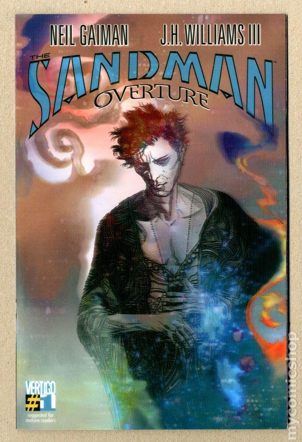 NM SANDMAN OVERTURE #1 Williams cover variant! 1 for 100 J.H