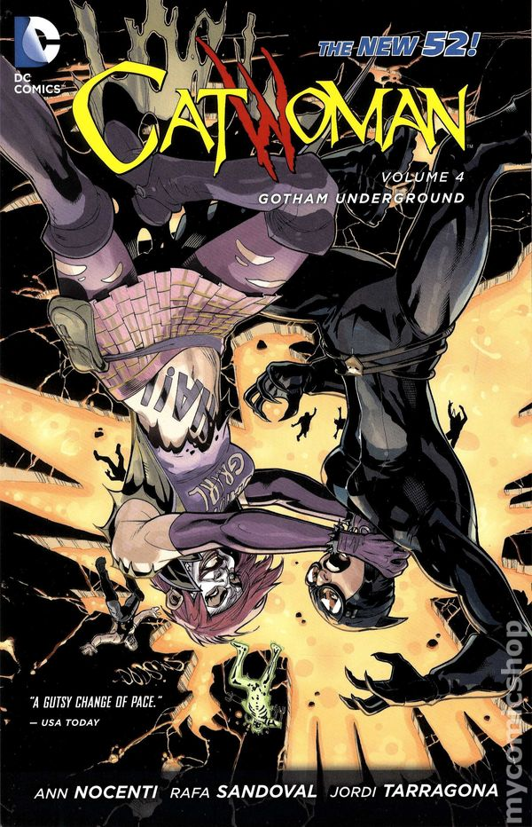 New 52 Catwoman Cover | www.pixshark.com - Images ...