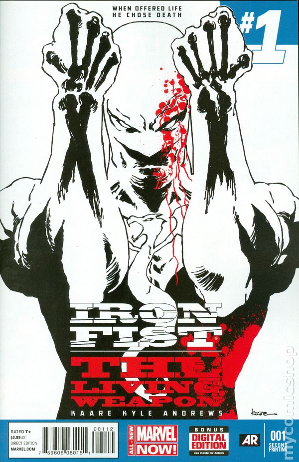 Iron Fist Living Weapon Comic Books Issue 1