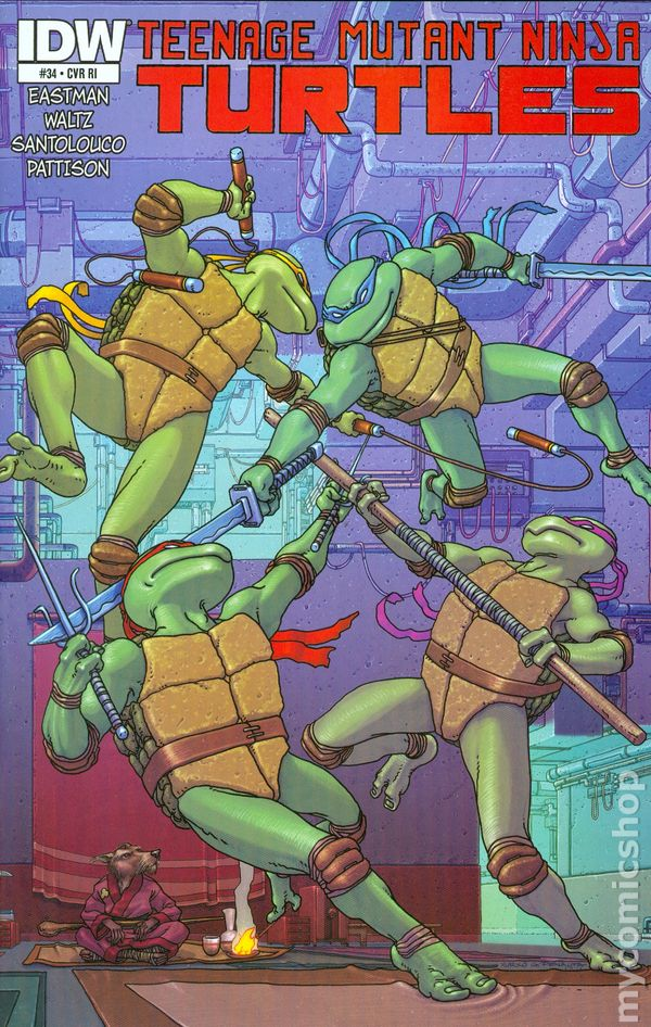 TEENAGE MUTANT NINJA TURTLES #12A 2012 VF