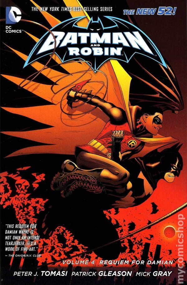 Batman and Robin HC (2012-2015 DC Comics The New 52) comic ...