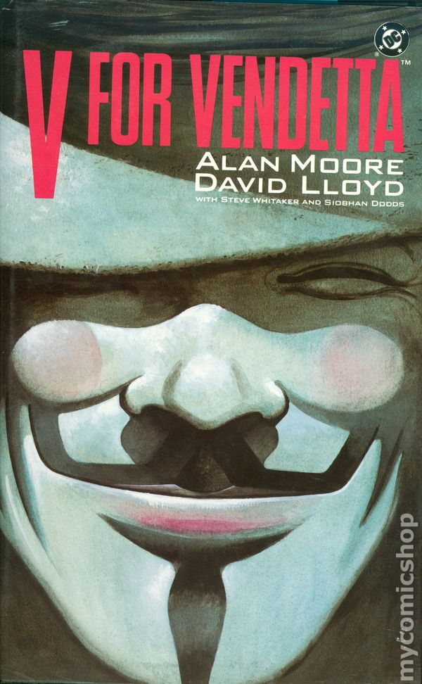 anonymity behind the mask in v for vendetta a comic book series by alan moore V for vendetta is, like its author's later watchmen, a landmark in comic-book writing alan moore has led the field in intelligent, politically astute (if slightly paranoid), complex adult comic-book writing since the early 1980s.