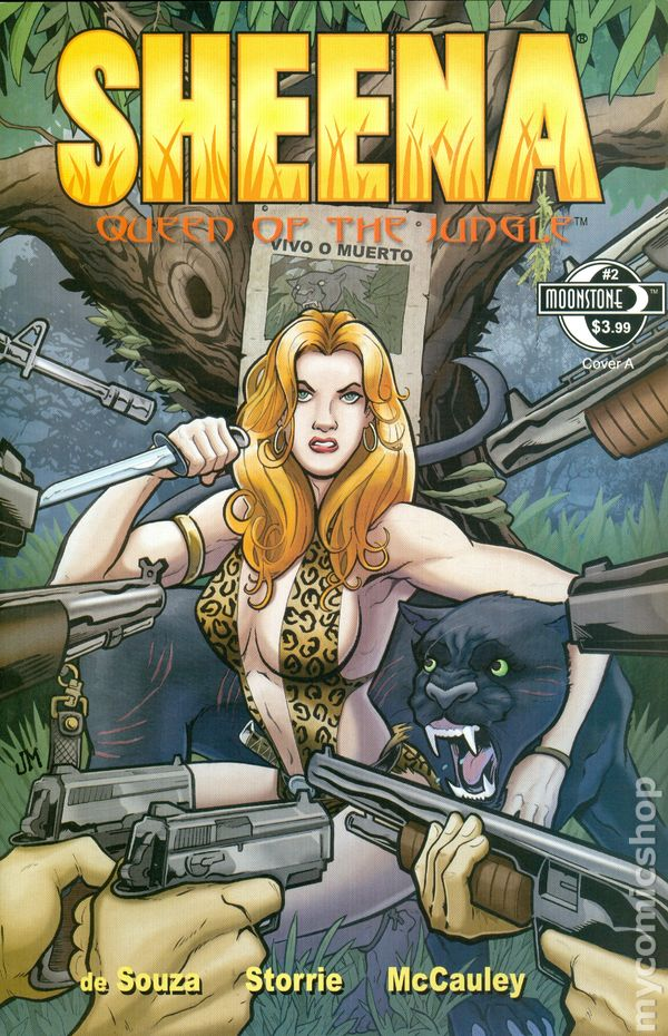 Sheena 2014 Moonstone Comic Books