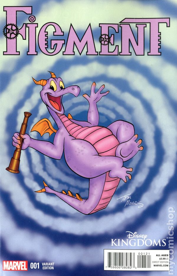 Figment 2014 Comic Books