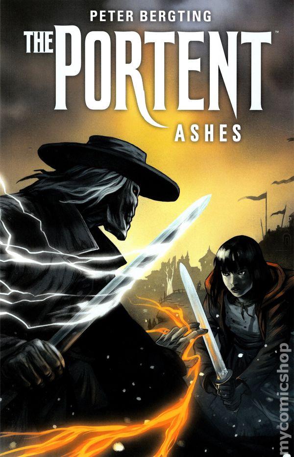 Portent tpb 2014 dark horse ashes 1 1st vf for Portent 2014