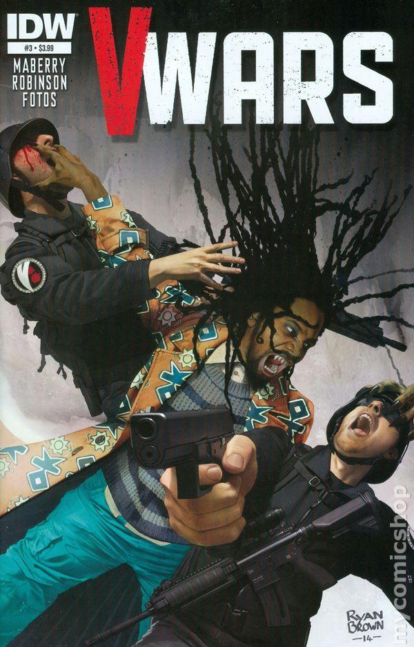 V-Wars (2014) comic books