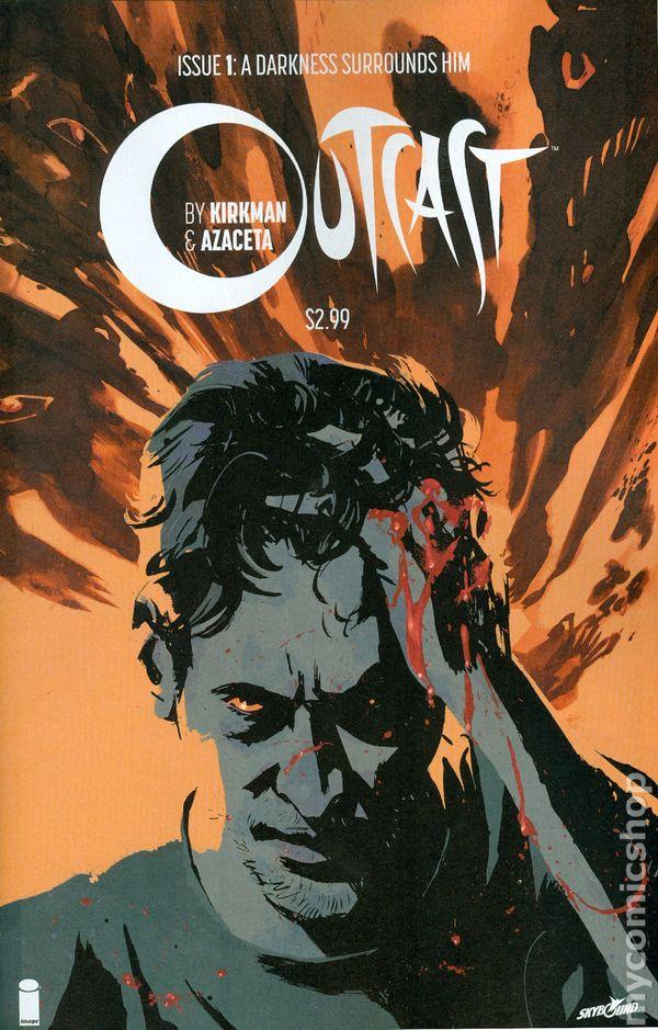 Outcast 1 CGC 9.8 Kirkman Cinemax Show Walking dead