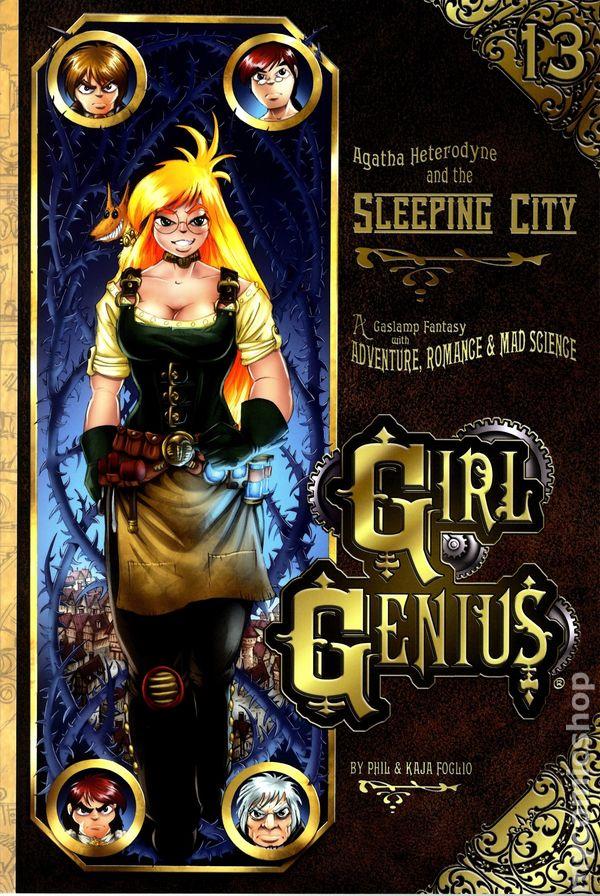 Girl Genius TPB (2002- Airship Entertainment) 1st Edition 13-1ST VF