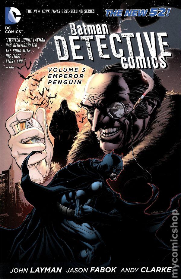 Batman Detective Comics TPB (2013 DC Comics The New 52 ...