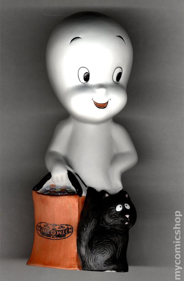 Lot Casper The Friendly Ghost  Cook Chef Hanging Dakin PVC figure 1995 Amblin