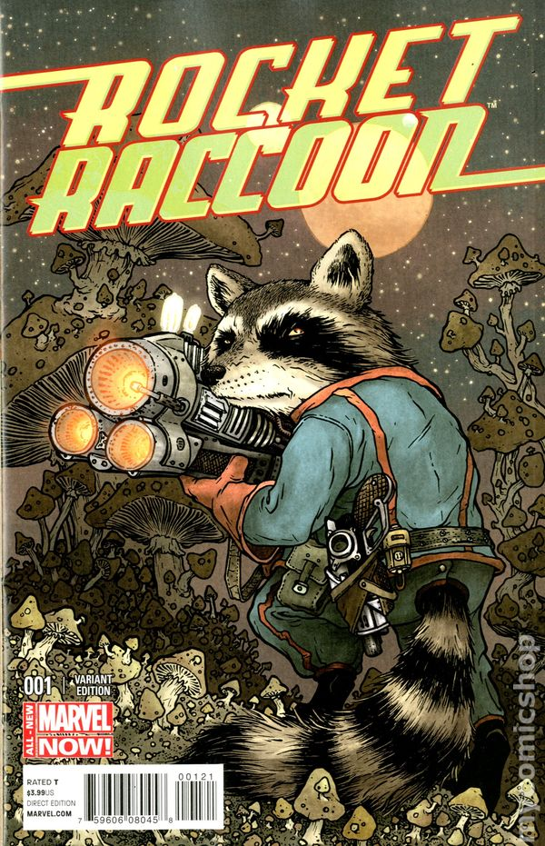 Marvel Comics ROCKET #1 first printing