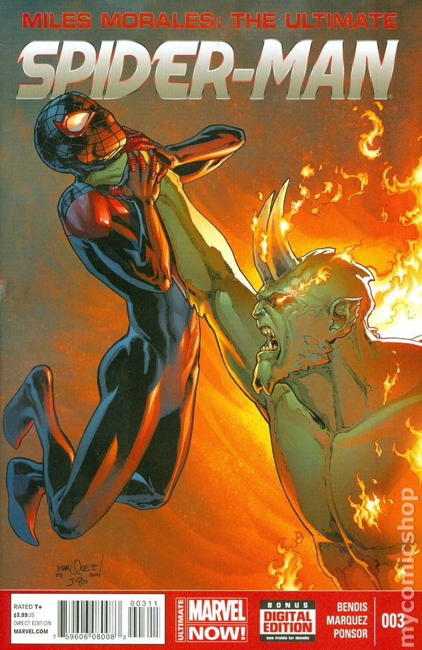 Miles Morales Ultimate Spider-Man (2014) comic books